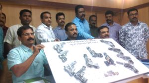 HUGE CACHE OF FIRE ARMS RECOVERED FROM NOTORIOUS CRIMINALS